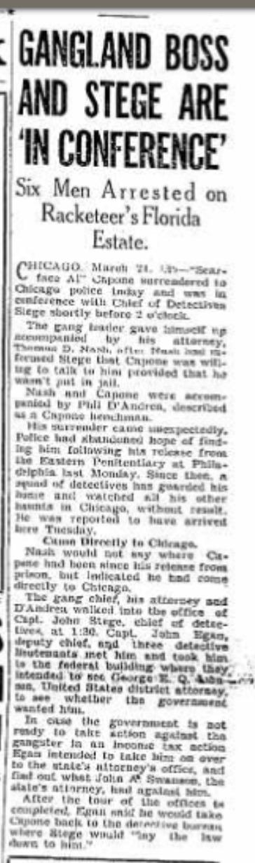 Capone article